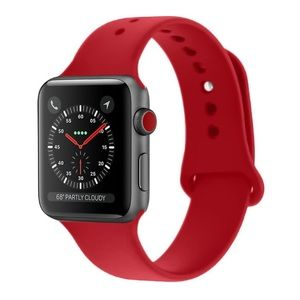 38mm Silicone Apple Watch Band (S/M)